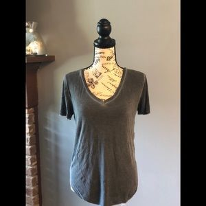 Charcoal gray t-shirt